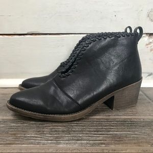 Volatile Ankle Booties Slip On Boots Size 6.5